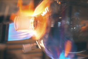 Verrerie soufflage de verre laboratoire Mod'Verre